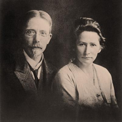 Marie og August Krogh